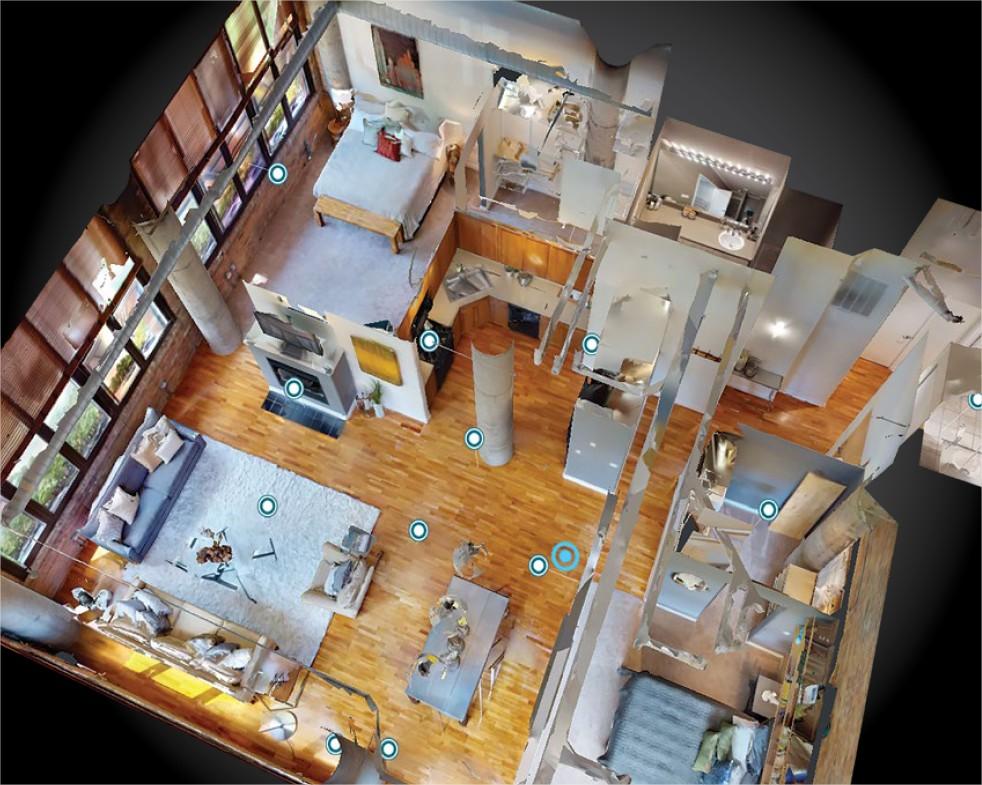 Matterport floor plan
